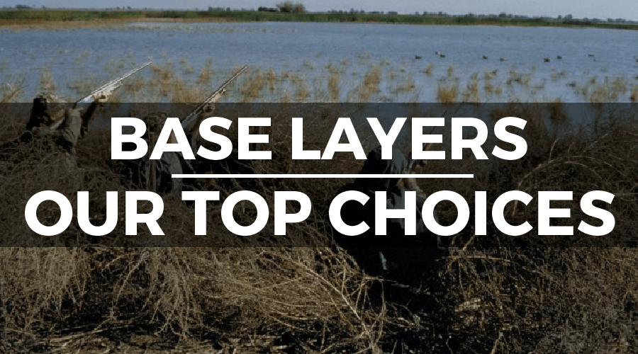 best base layers for hunting